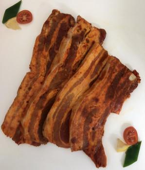 Tranches de poitrine de porc barbecue x4