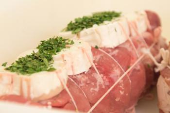 Filet mignon porc au chèvre