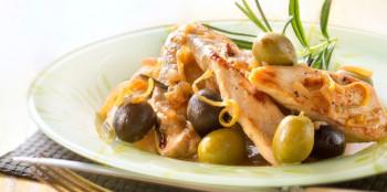 Escalope de Dinde Olive/Basilic x 2