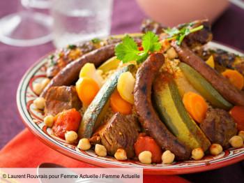 Viandes à Couscous + Légumes