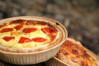 Quiches au chorizo x2
